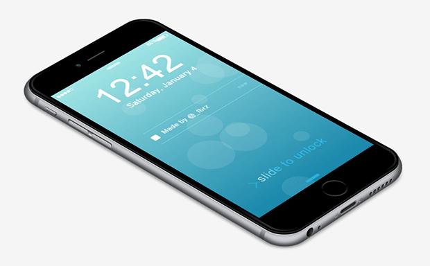 纯CSS3实现3D特效的iPhone 6动画